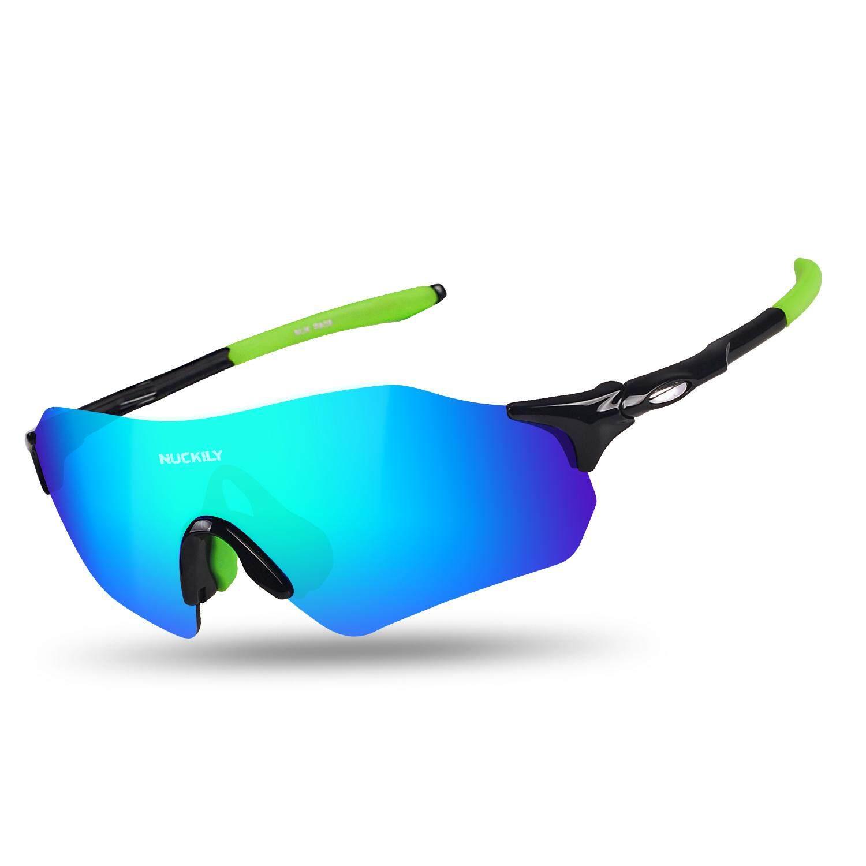 Nuckily Tidak Ada Batasan Kacamata Sepeda Ringan Kacamata Lari Tr90 Bingkai Kacamata Hitam Untuk Sepeda Jalanan Dan Sepeda Gunung By Nuckily Cycling.