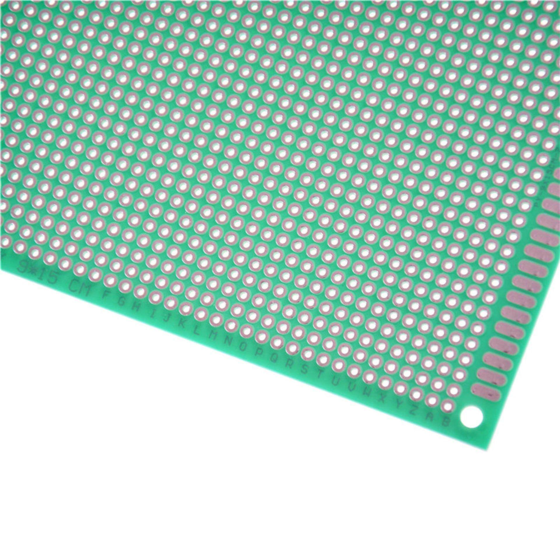 Features 915cm Fiber Green Single Side Prototype Circuit Tinned Paper Copper Pcb Universal Experiment Matrix Board Through Hole Diy