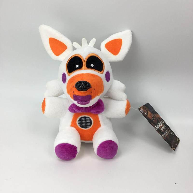 20 Cm Fnaf Lima Malam Di Freddy Suster Lokasi Funtime Fox Foxy Plush Mainan  Lembut Boneka 91087eb5b8