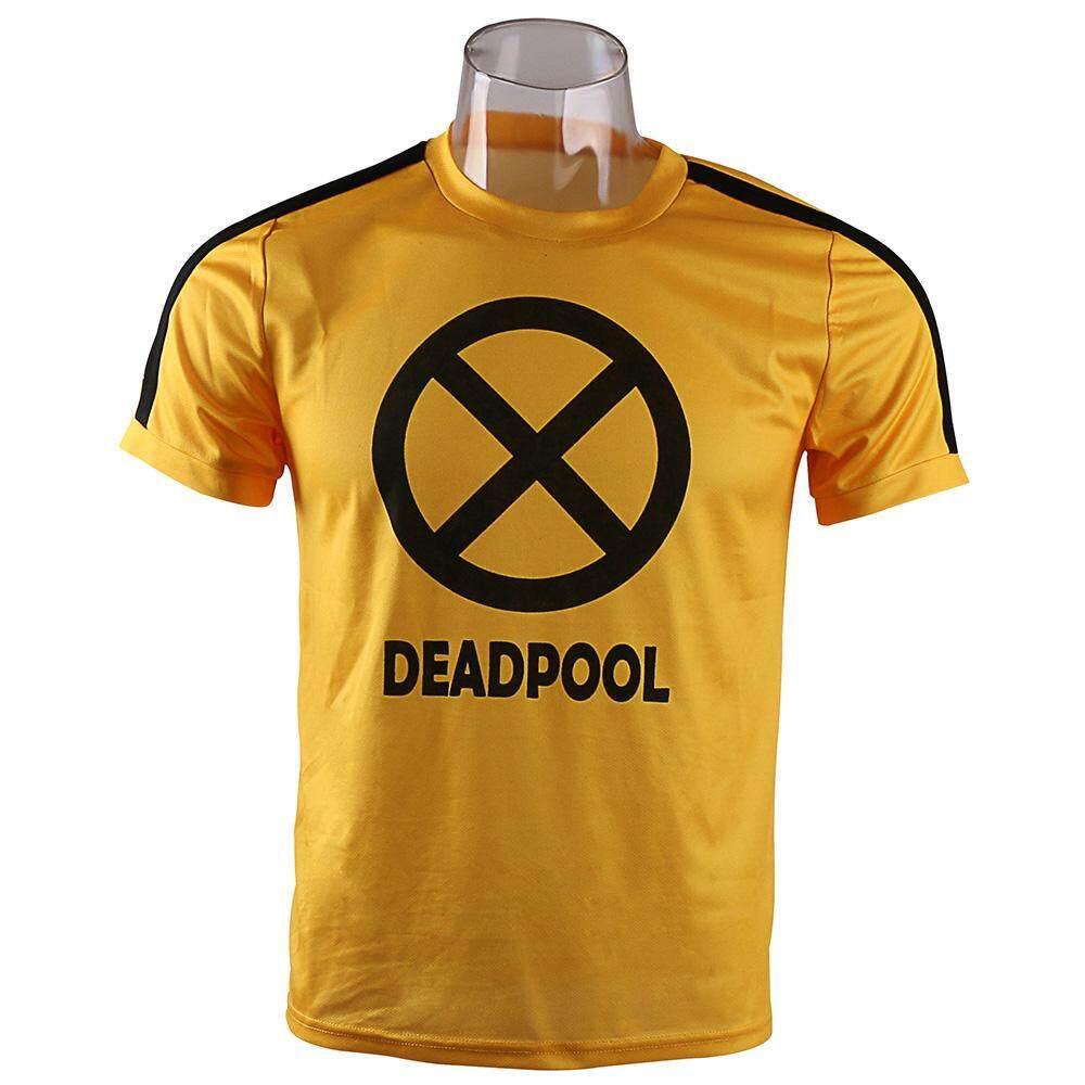 Vanwin Kaos Distro Deadpool HD Hitam Shopee Indonesia Source · Detail Gambar Karena Baru Superhero Marvel Deadpool Kostum Cosplay Deadpool T shirt Lengan ...
