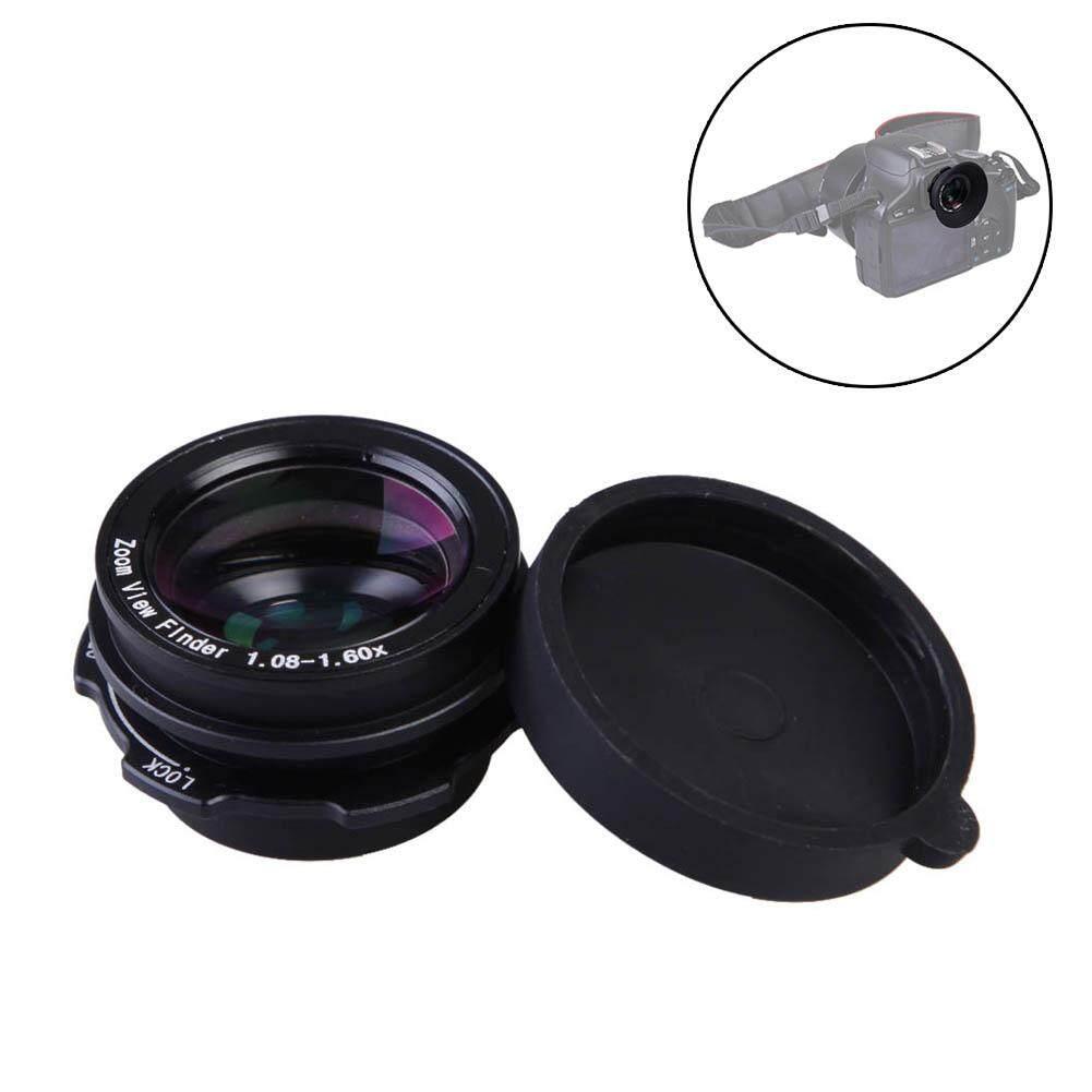 YBC 1.08-1.60X Kaca Optik Jendela Bidik Perbesaran Pembesar Lensa Mata untuk Perkakas Bertualang Kamera DSLR