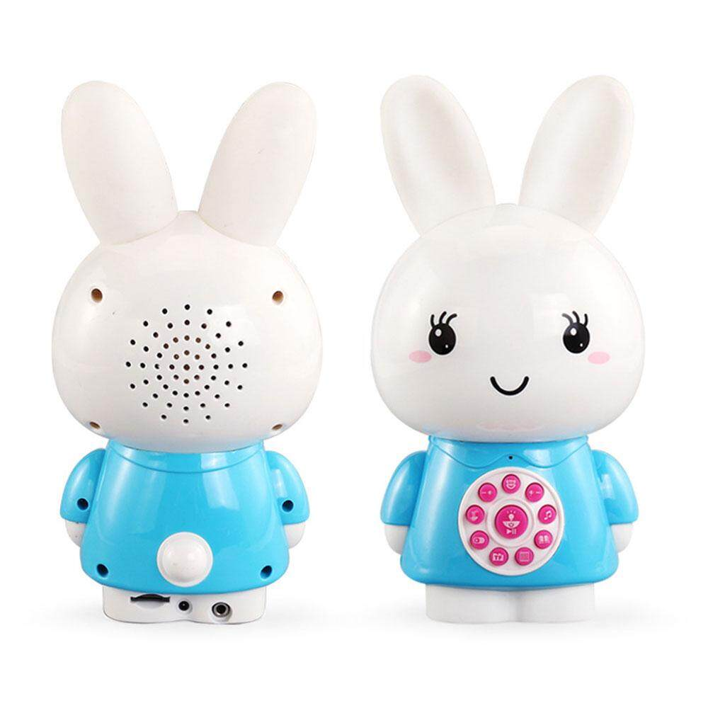 Vishine Mall free shipping Bunny Learning Machine Baby Music Player Multi-Functional Silicone Plastic Download Function Ability Enhance - intl