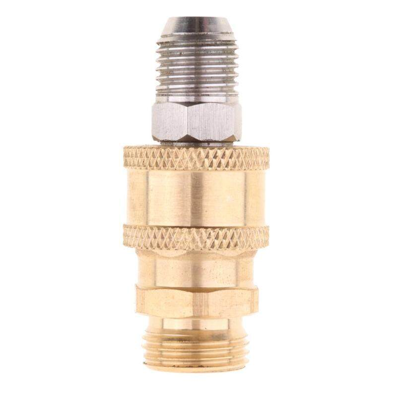 MagiDeal Pressure Washer Quick Release 14mm Male to 18mm Male Brass Coupling - intl