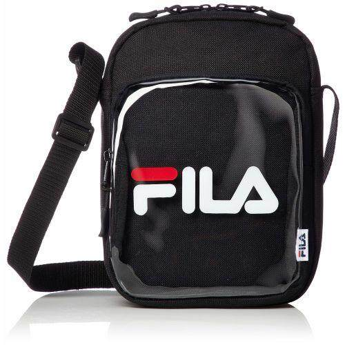 FILA CLEAR POCKET SHOULDER BAG FM2100 SHOULDER BAG CLEAR POCKET BLACK