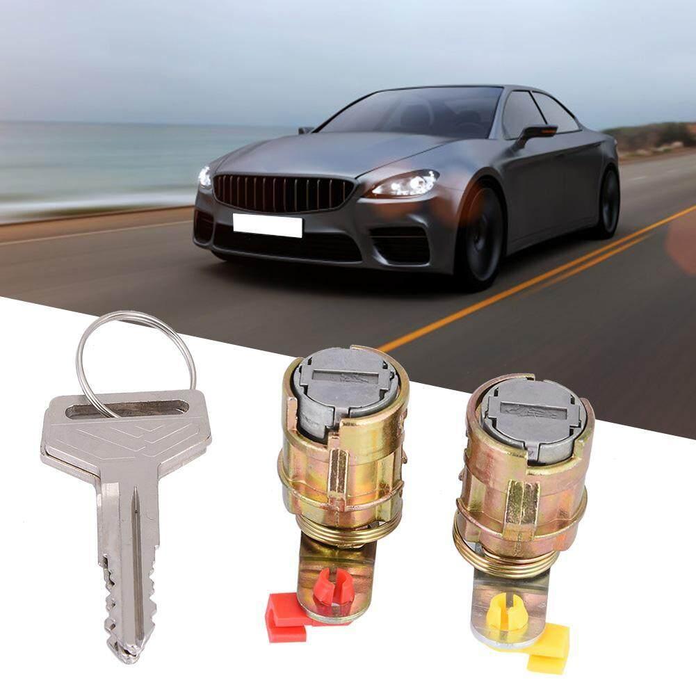 2Pcs Car Barrel Lock Door Lock Cylinder Set for Pickup 69051-35030  69052-35030