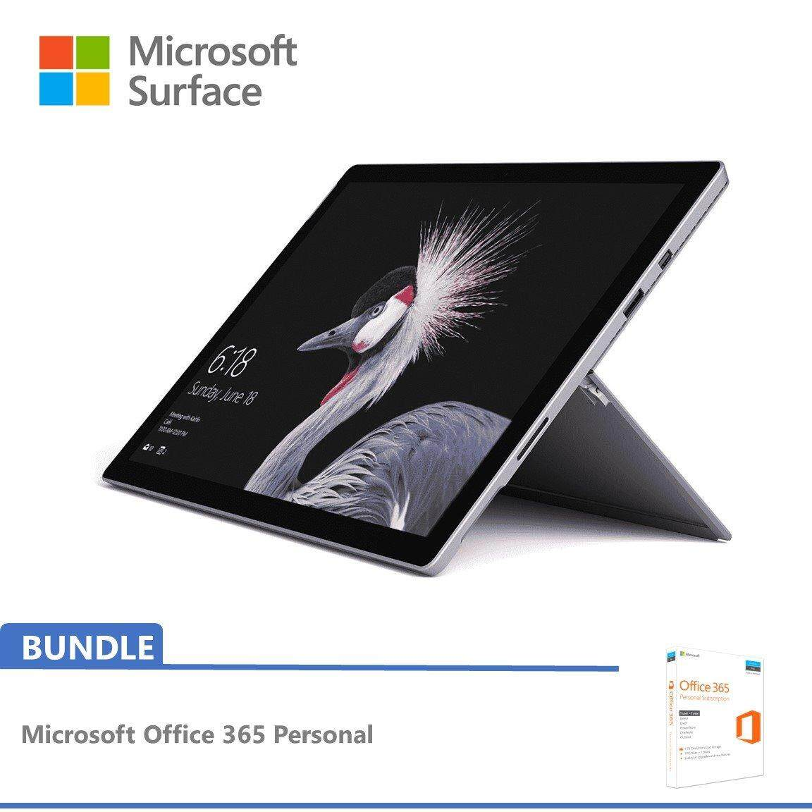 Microsoft New Surface Pro i5 256GB SSD / 8GB RAM FREE Office 365 Personal Malaysia
