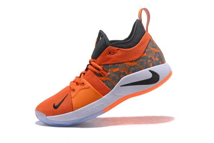 fd501449e258 2018 Nike PG 2 White Multi-Color EP Elite Sneakers Paul George NBA OKC  Basketball Shoes