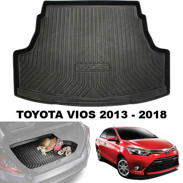 TOYOTA VIOS 2013 - 2018 ORIGINAL ABS Anti Non Slip Rear Trunk Boot Cargo Tray