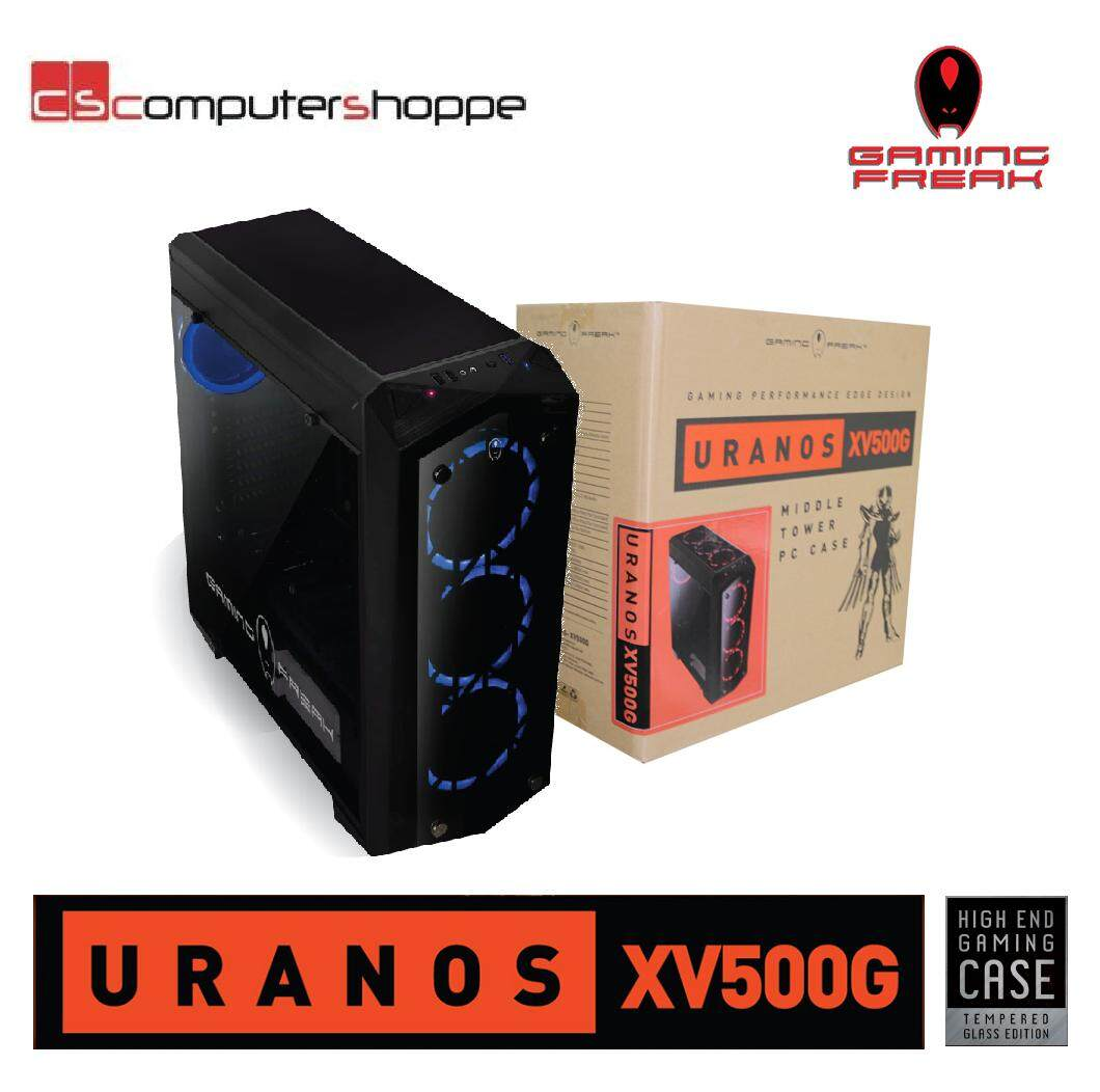 AVF Gaming Freak Chassis Tempered Glass URANOS XV500G Malaysia