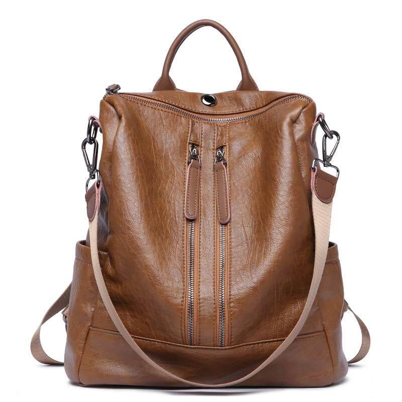 c1ecc74c384 Bostanten Women's Leather Backpack Purse Fashion Travel Casual Detachable  Ladies Shoulder Bag