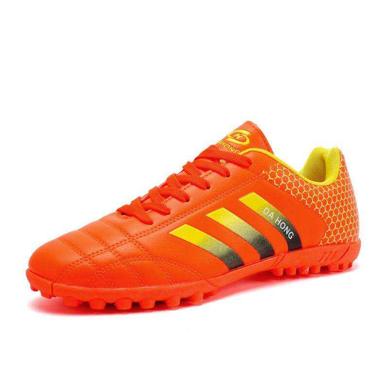 12dc7f5bed8c Football Shoes for Kids 3Colors New Fashion Star s Style Competition Short  Nail Soccer Boots Boys and