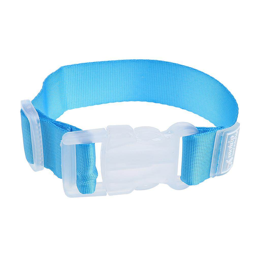 Miracle Shining Luggage Case Straps Suitcase Clip Buckle Protect Belt Fastener Blue