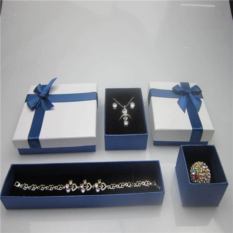 Kualitas Unggul Perhiasan Kotak hadiah Dasi kupu-kupu pita kotak kemasan Cincin .