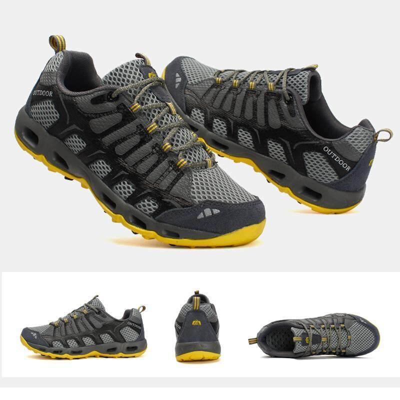 c5de04c9c1d3 Big Size Outdoor Water Proof Hiking Shoes for Men Women Breathable Climbing  Sneakers Lightweight Mountain Trekking