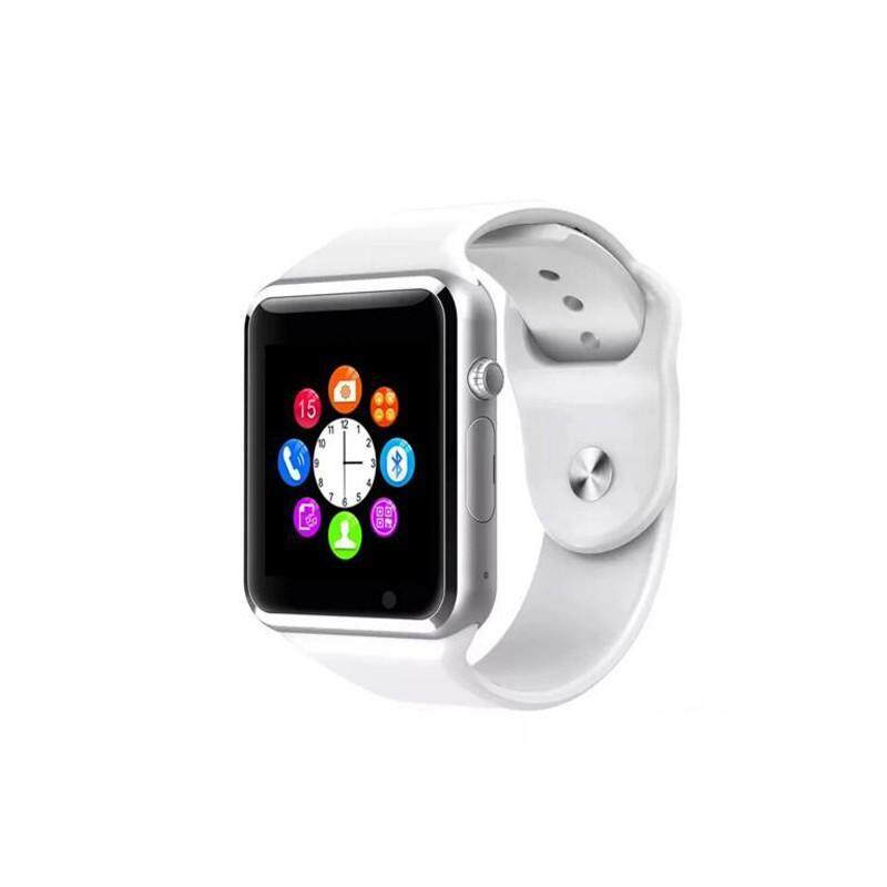 A1 Bluetooth Smart Watch with Sport Pedometer Camera SIM micro SD Memory Connectivity for iPhone Android Phone