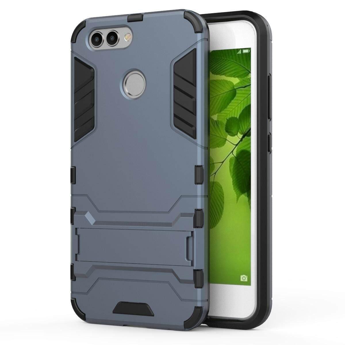 Hình ảnh for Huawei Nova 2 Case 2in1 PC+TPU Hybrid Slim Back Case Ultra Thin Armor Cover, with Kickstand Holder, Glossy, Minimalist, Casual