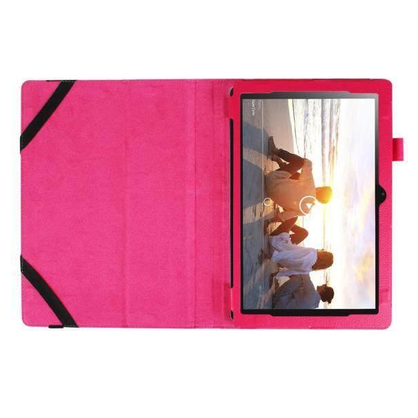 Stand Folio Flip Case Kulit Sampul untuk Lenovo Miix 310 10.1 Inci…-Intl