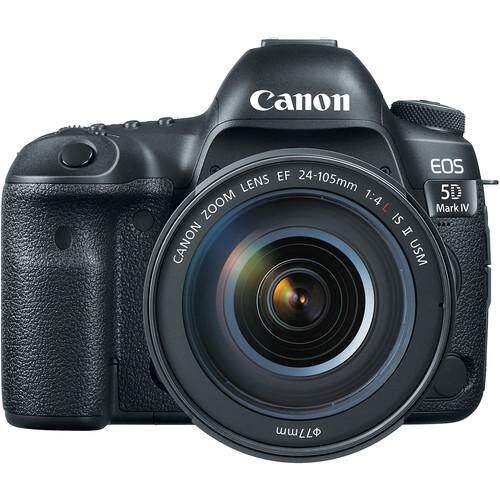 Canon EOS 5D Mark IV DSLR Camera with 24-105mm f/4L II Lens (CMM)