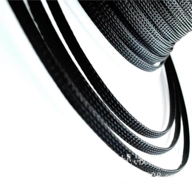 3D Printer Tahan Api Nilon Sarung Kepang 8 Mm Perlengkapan Hasil Karya Sendiri Ekspansi Telescoping Tabung Jaket Kabel Tabung
