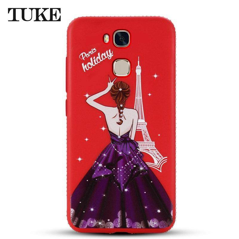 TUKE Case For Huawei Honor V9 Play For Huawei Honor 6C Pro JMM l22 Luxury Beauty