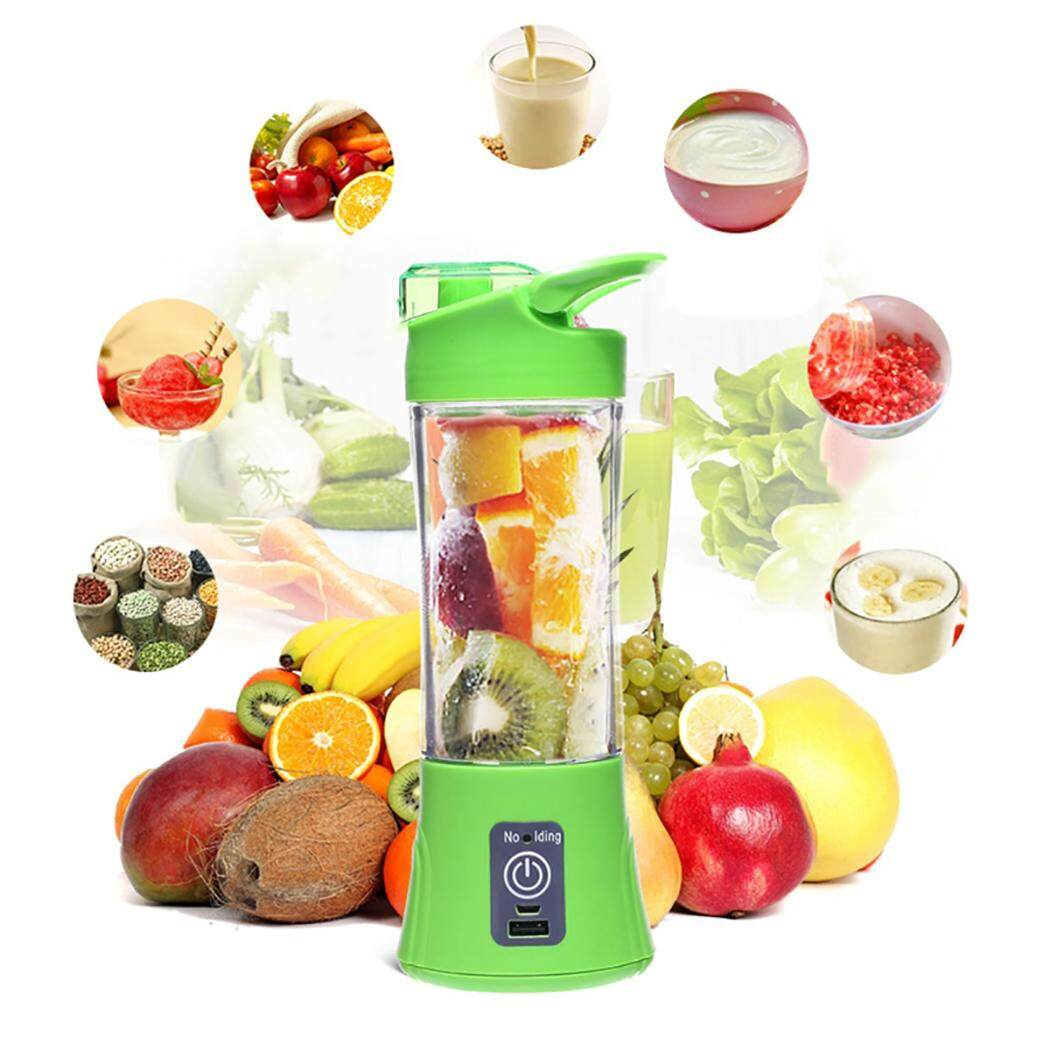 Juicer Cup Portable Household USB Rechargeable Juice Blender Cup Juice Extractor Cup Mini Blender