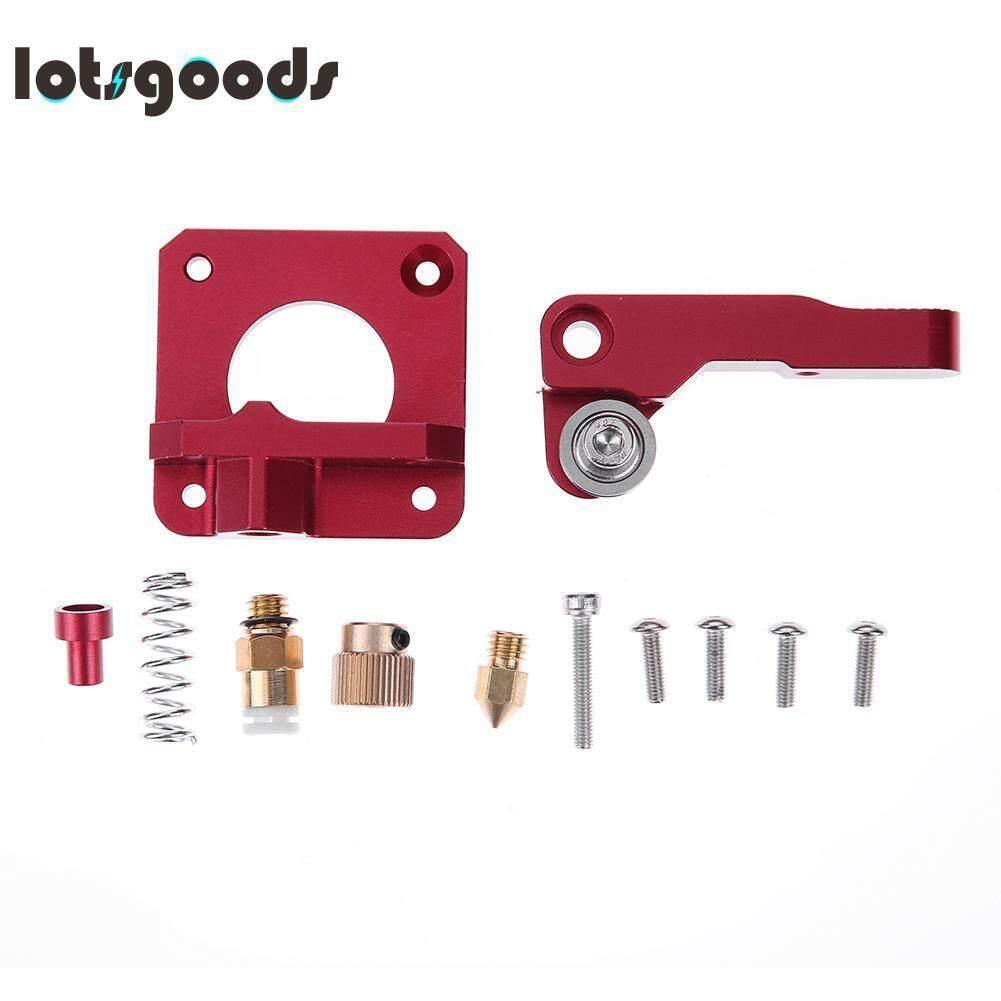 Hình ảnh MK8 Extruder Aluminum Alloy Block Extruder 1.75mm Filament for Creality 3D - intl