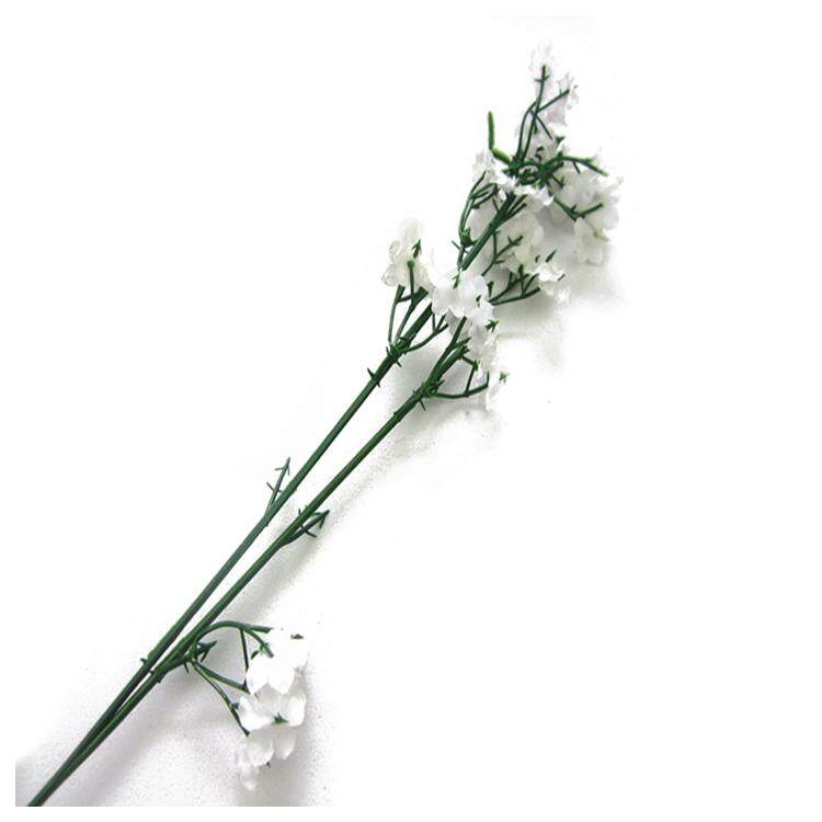 2x Artificial Silk cloth Gypsophila Fake Flower Bouquet Home Wedding Decor a301276dcc