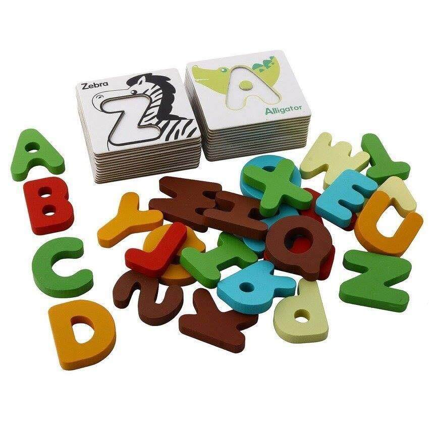 Alphabet Matching Puzzle toys for kids