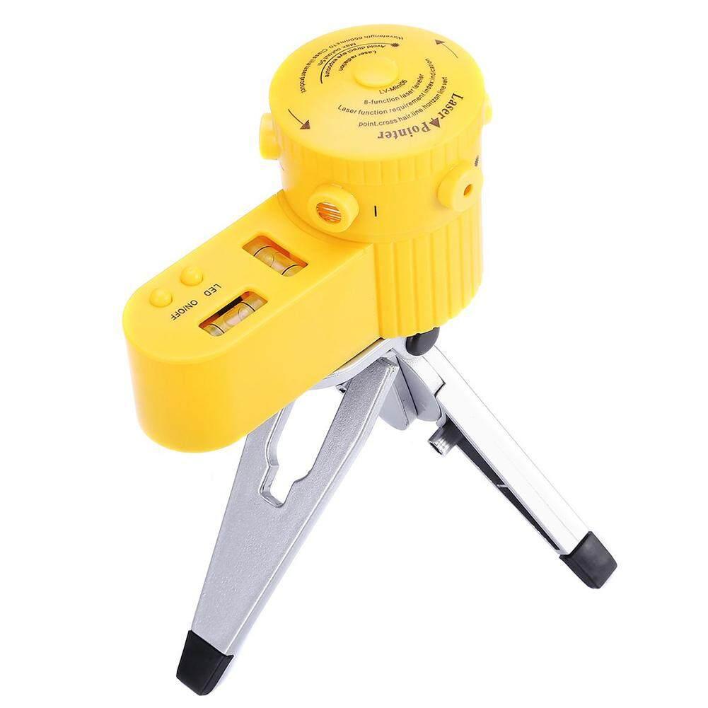 Đo Chân Máy Sử Dụng Nhà Cấp Laser Chỉ Báo Đèn LED Đa Chức Năng Đứng Mini