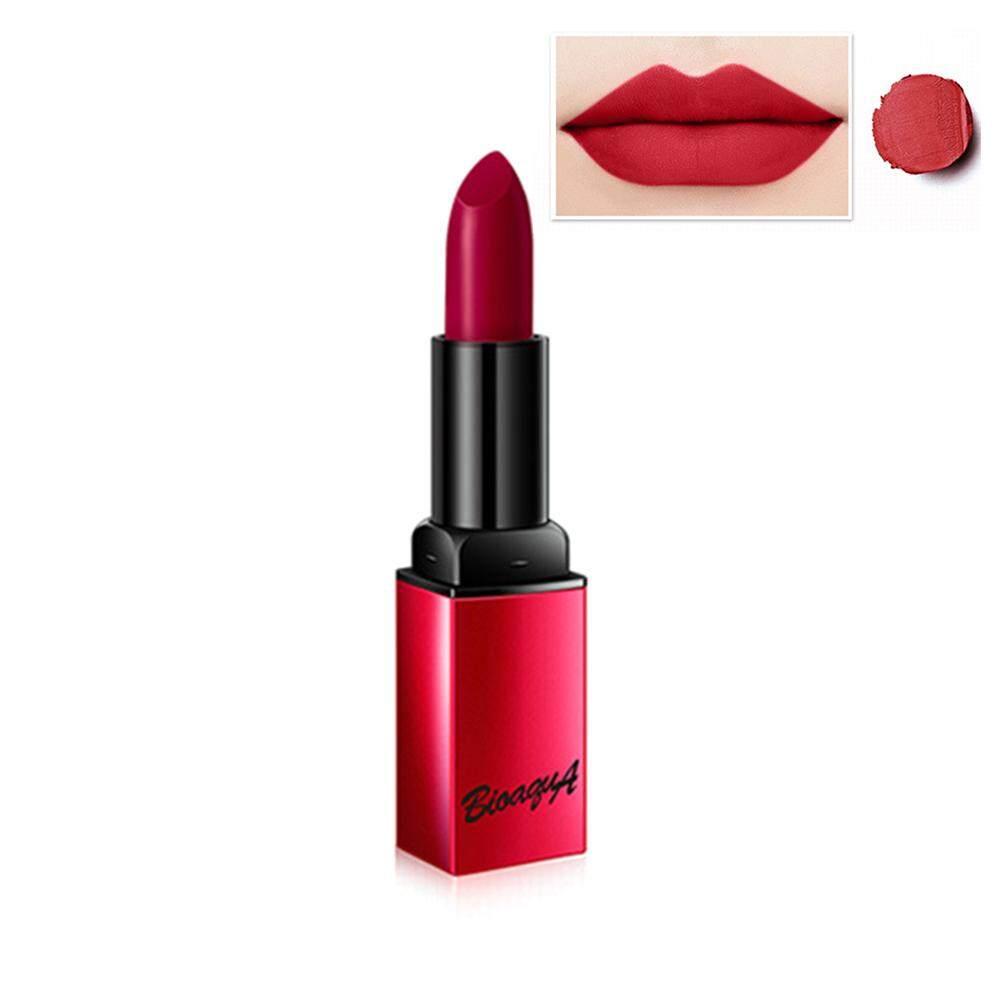 Boquanya Beludru Pelembap Matte Lipstik Tahan Air dan Tahan Lama Pelembab Non-Stick Cup Lipstik Lip Gloss Grosir Makeup #102 Coral Merah Muda