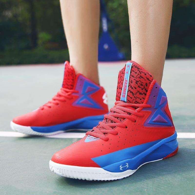Sepatu Keranjang Pria Tinggi Terbaik Olahraga Luar Ruangan Papan Luncur  Sepatu Modis Kasual Jalanan-Internasional dd790d56a7