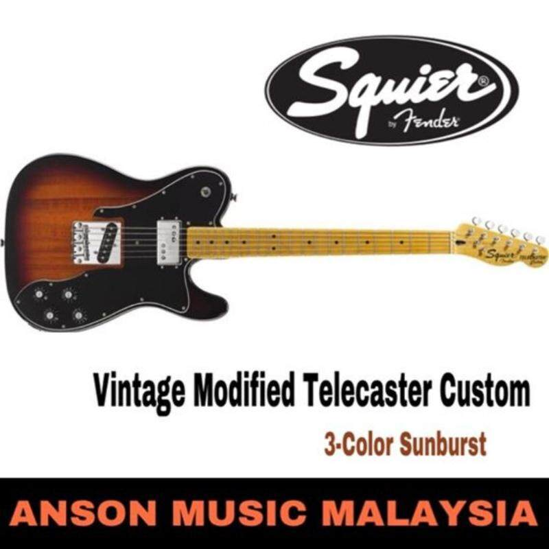 Squier Vintage Modified Telecaster Custom Electric Guitar Malaysia