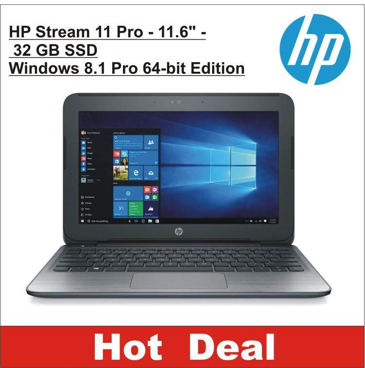 HP Streambook Pro-11.6 2GB /32GB SSD Windows 8.1 Pro 64 bit Edition Malaysia