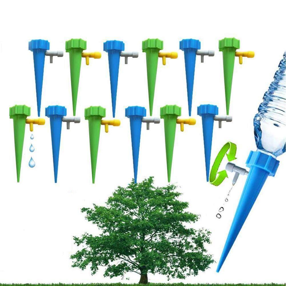 Shuaicai 12 Cái/Bộ Nhà Tự Động Vật Có Tưới Cây Dụng Cụ Hệ Thống Tưới Nhỏ Giọt Làm Vườn Phụ Kiện Trang Trí