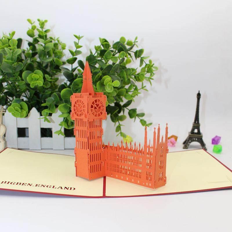 3D Big Ben Card