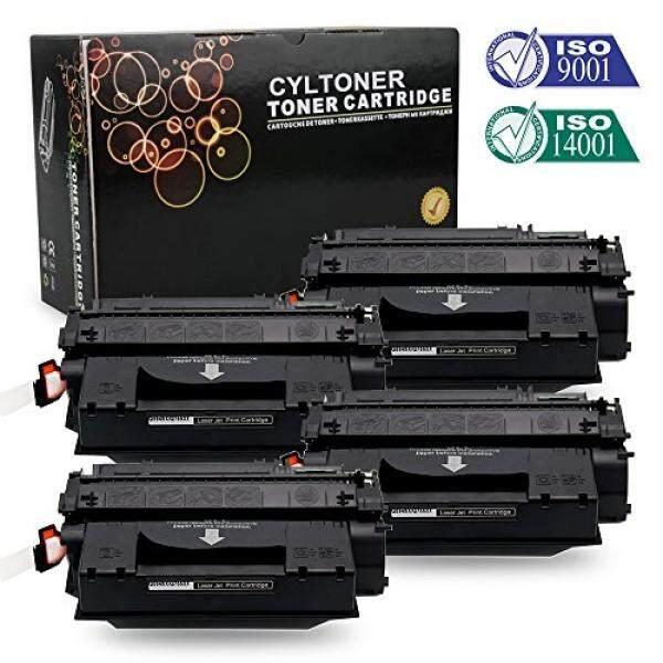 CYLToner 49X Toner Q7553X Q5949X Compatible with HP LaserJet P2015d 1320 M2727nf 1160 P2015 1320n 3390 P2015dn 3392 1320tn P2014 P2013 P2010 P2015n P2015x P2012 P2011 (4 Pack Black) - intl
