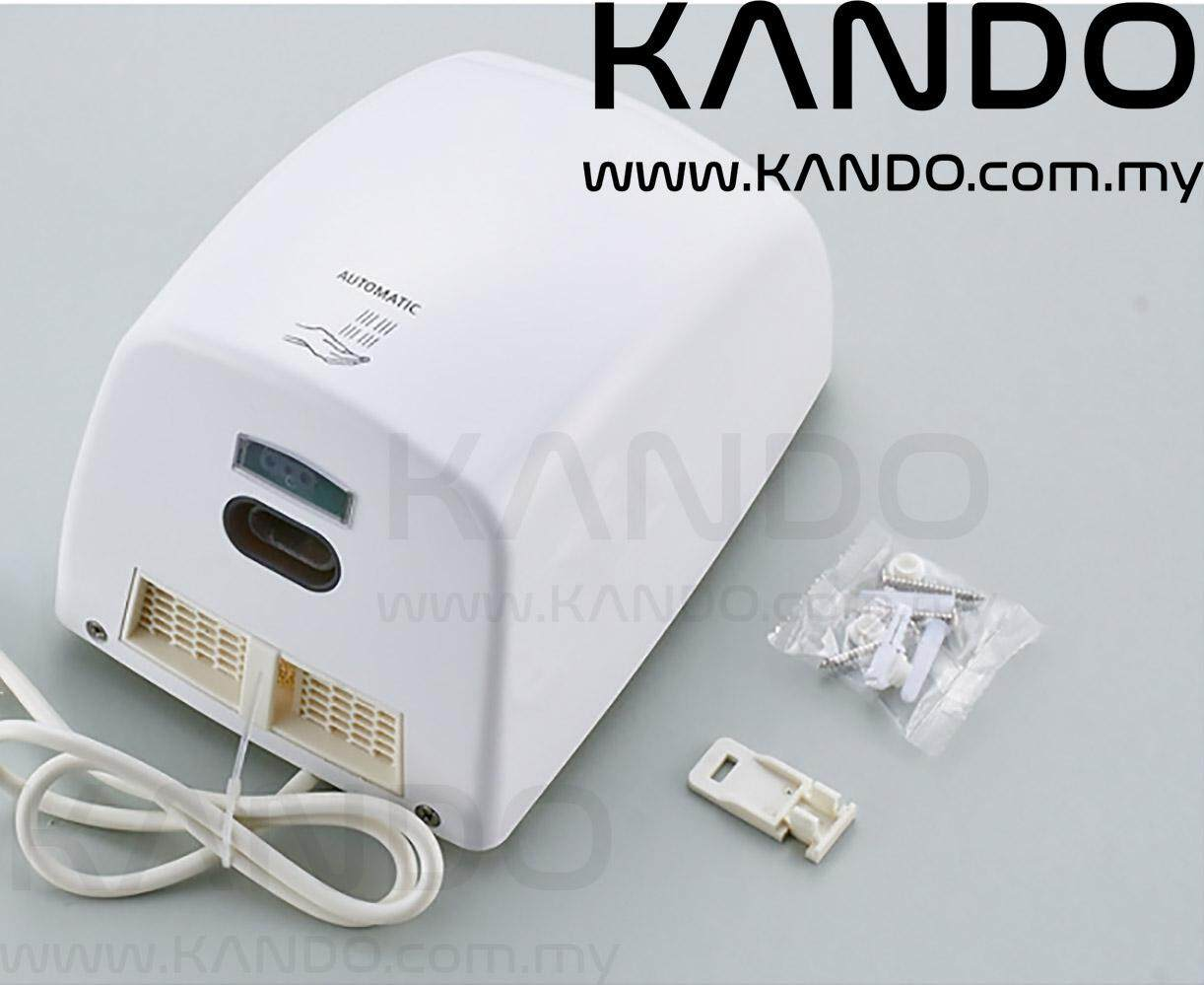 [MALAYSIA]Automatic Compact Hand Dryer 1000W with Infrared Sensor Air Drier Household Hand Drier 10 SECONDS DRYER
