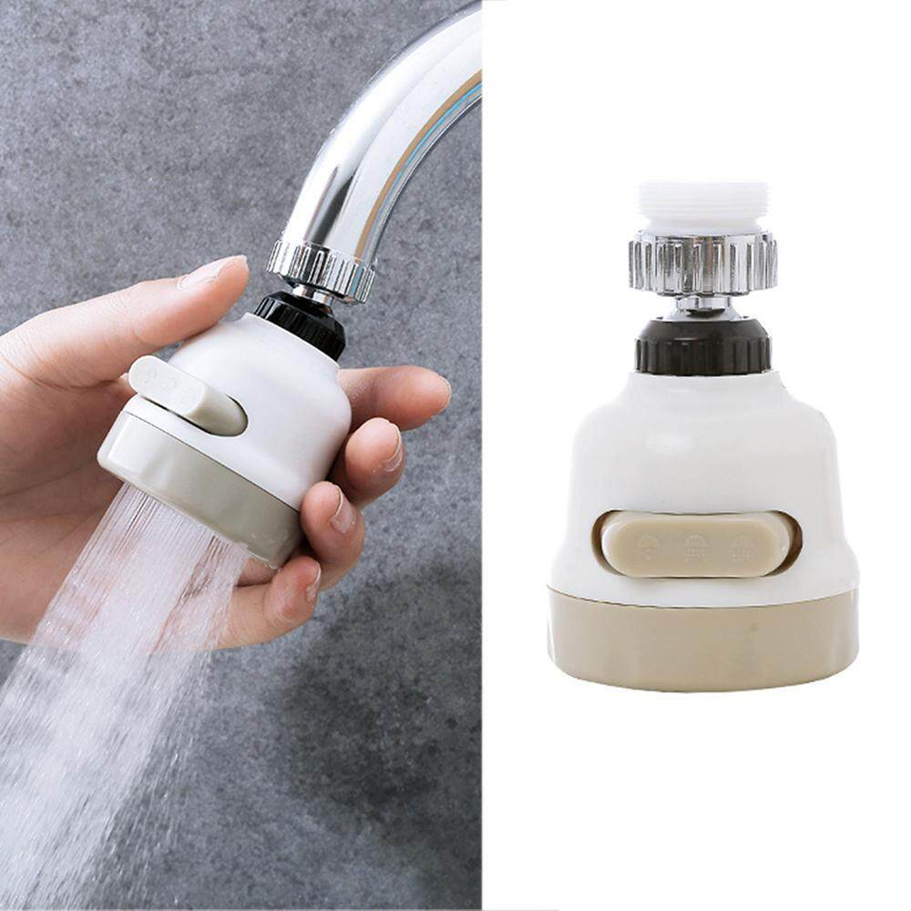 Leegoal Faucet Filter Sprayers 360 Degrees Rotation Foldable Kitchen Water Economizer New - Intl By Leegoal.