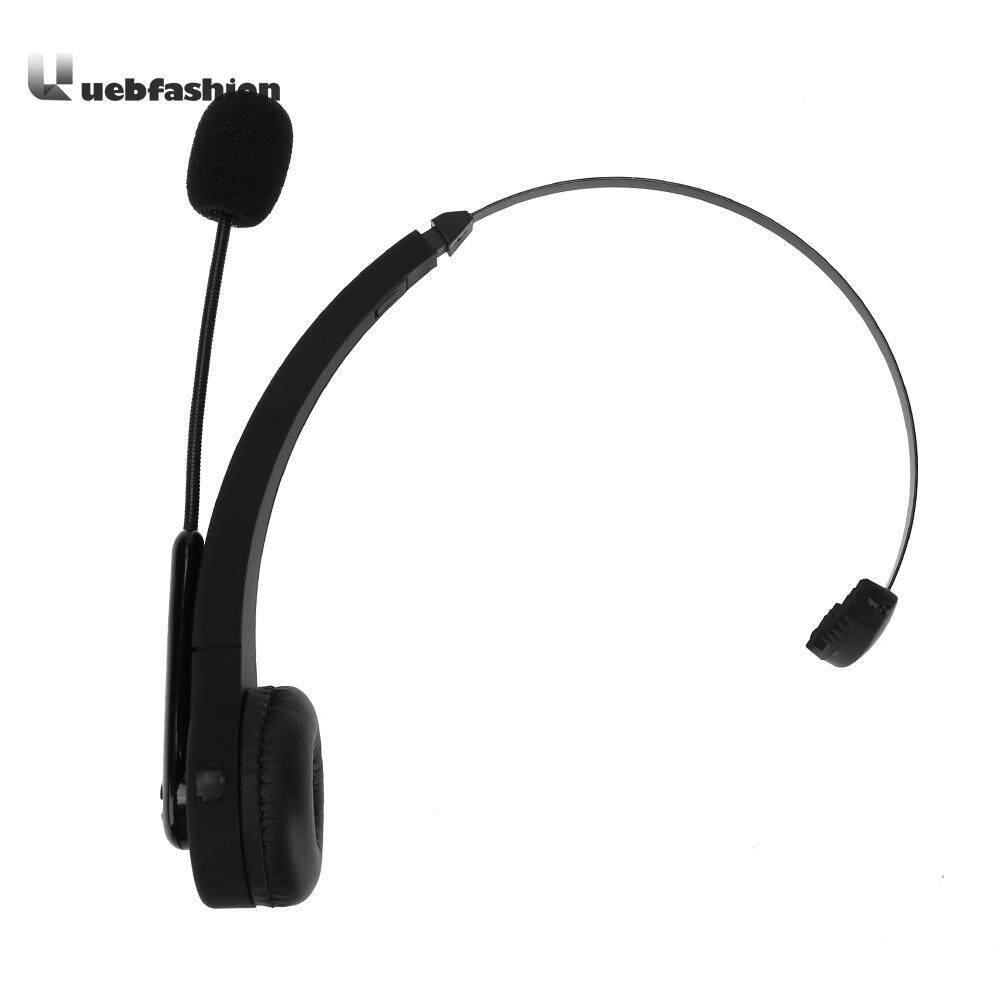 Nirkabel Bluetooth Gamer Headset Mono Telinga Permainan Video Headphone Earpiece Headphone Game Hitam dengan Mikrofon untuk