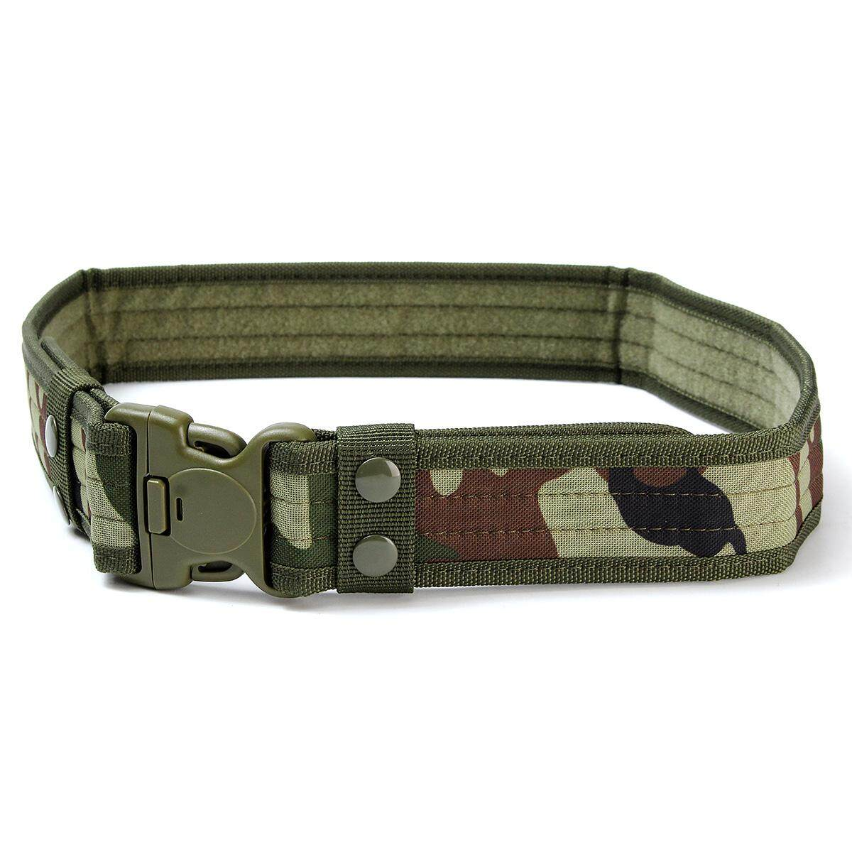 Fitur Celana Panjang Blackhawk Hitam Tactical Outdoor Black Hawk Mens Belt Combat Train Police Duty Military Army For