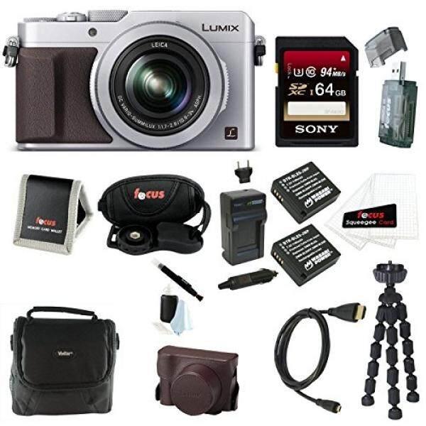 Panasonic Lumix LX100 16.8 MP Titik dan Menembak Kamera Terintegrasi dengan Leica DC