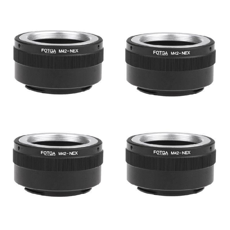 4X FOTGA M42 Cincin ADAPTER UNTUK Sony NEX E-Gunung NEX NEX3 NEX5n NEX5t A7 A6000-Intl