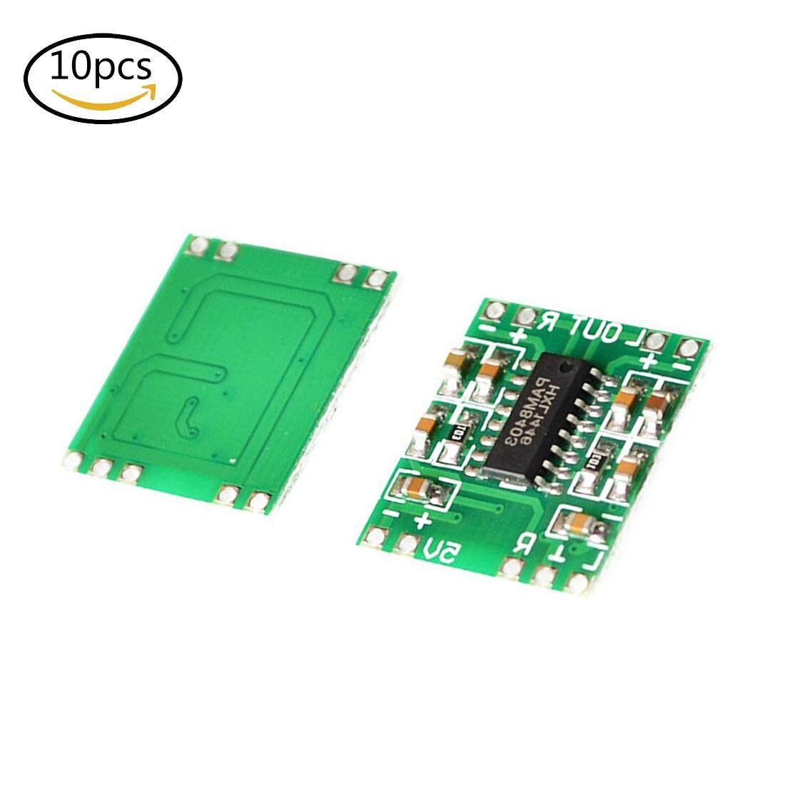 LT365 10Pcs PAM8403 Mini Digital Power Amplifier Board 2*3W Class D Audio  Module 2 5v-5V USB for Arduino - intl