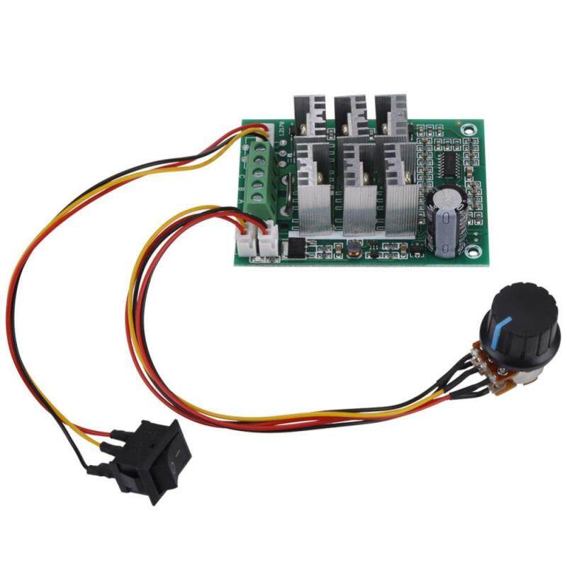 DC 5V-36V 15A 3-Phase Brushless Motor Speed Control CW CCW Reversible Switch