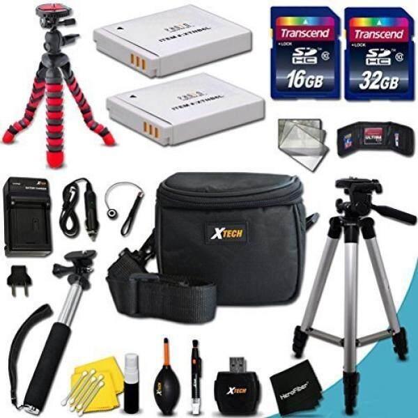 Mega Pro 25 Piece Accessory Kit for Canon Powershot SX530 HS, SX520 HS, SX510 HS, SX710 HS, SX610 HS, SX700 HS, SX600 HS, SX500 IS, SX280 HS, SX260 HS, SX170 IS, SD1300 IS, SD1200 IS, SD980, SD770, SD1300, D30, D20, D10, IXUS 85 IS, IXUS 95 IS, IXUS