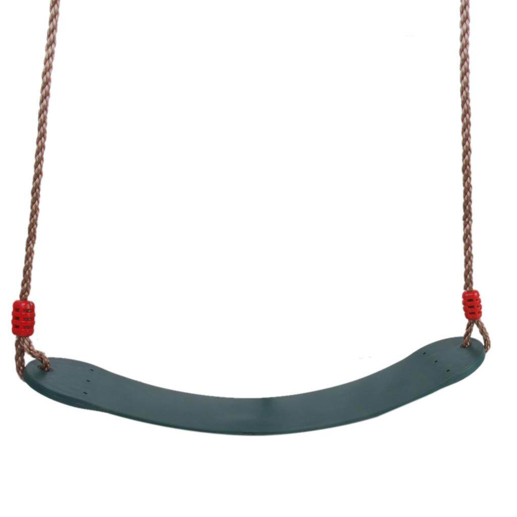 MagiDeal Outdoor Swing Set Seat with Rope Dark Green