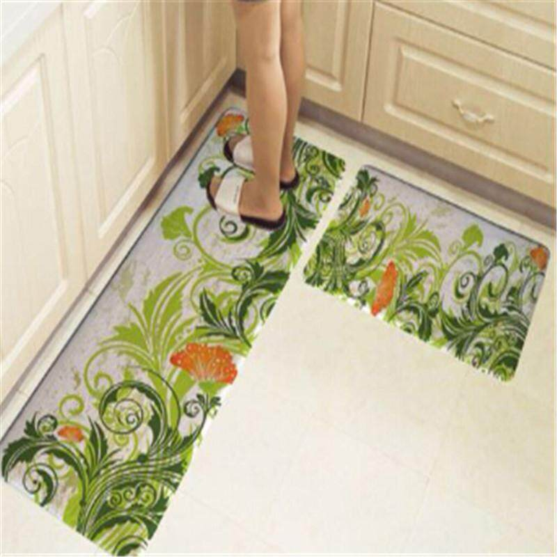 { Buy one get one free} Kitchen Hot Selling Mats Door Bathroom Carpet Absorbent Slip-resistant Doormats Modern Kitchen Mat