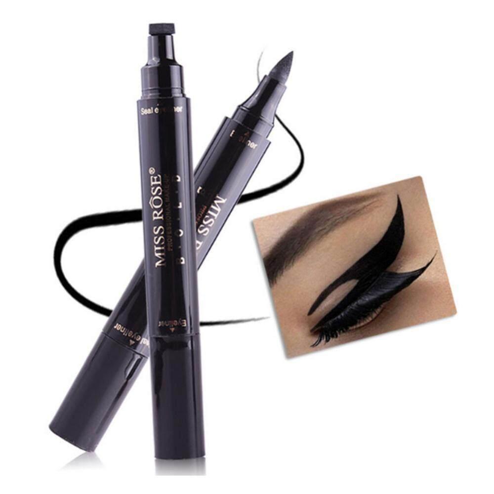 Cek Harga Baru Handaiyan Eyes Liner Liquid Double Seal Eyeliner Warna Putar Miss Rose Head Stamp Pencil Eye Makeup Cosmetic Tool Intl