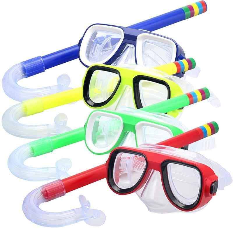 Brisky 1 Pcs Anak Menyelam Snorkeling Renang Scuba Dan Topeng Kaca Kacamata-Internasional By Brisky.