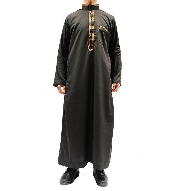 507912076526 Supermall Muslim Arab Middle Eastern Men Robe Long Gown Fashion Clothes.  ₱1